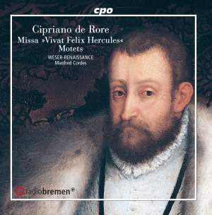 "Cypriano de Rore: Missa ""Vivat Felix Hercules"" and Motets Product Image"