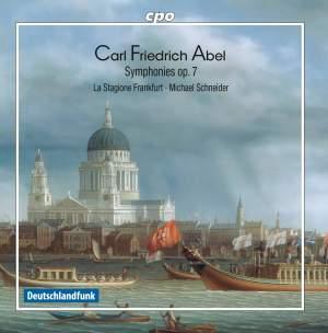 Abel, C F: Symphonies (6), Op. 7 Product Image