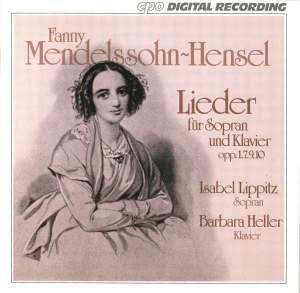 Fanny Mendelssohn-Hensel: Lieder