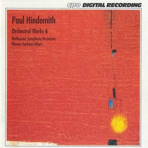 Hindemith: Orchestral Works, Vol. 6