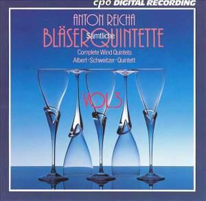 Reicha: Complete Wind Quintets, Vol. 3
