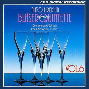 Reicha: Complete Wind Quintets, Vol. 6