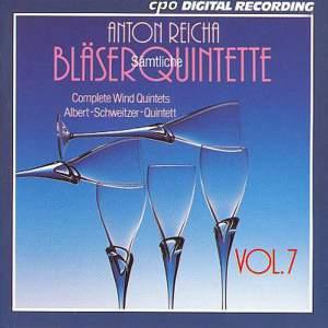 Reicha: Complete Wind Quintets, Vol. 7