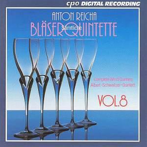 Reicha: Complete Wind Quintets, Vol. 8