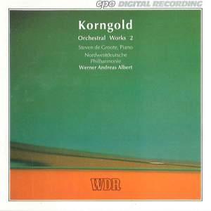 Korngold: Orchestral Works, Vol. 2