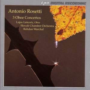 Rosetti: 3 Oboe Concertos