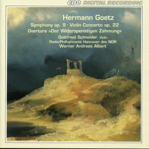 Goetz: Symphony, Op. 9, etc.