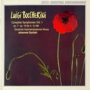 Boccherini: Complete Symphonies, Vol. 1