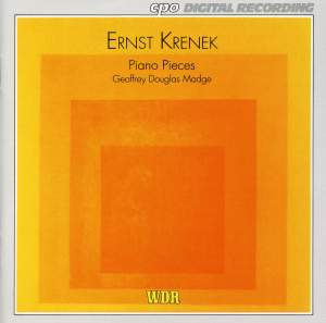 Krenek: Piano Pieces