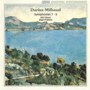 Milhaud: Symphonies Nos. 7 - 9 Product Image