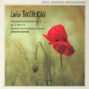 Boccherini: Complete Symphonies, Vol. 3