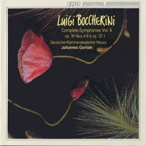 Boccherini: Complete Symphonies, Vol. 6