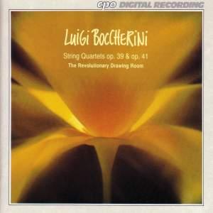 Boccherini: String Quartets Op. 39 & Op. 41 Nos. 1-2