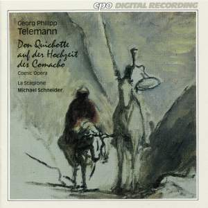 Telemann: Don Quichotte auf der Hochzeit des Comacho Nolte