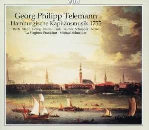 Telemann: Hamburgische Kapitänsmusik 1755