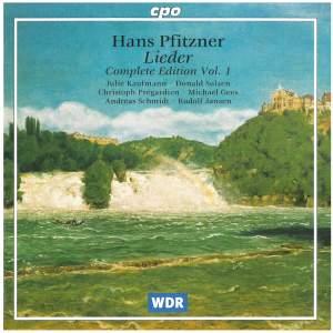 Pfitzner: Lieder (Complete Edition, Vol. 1)