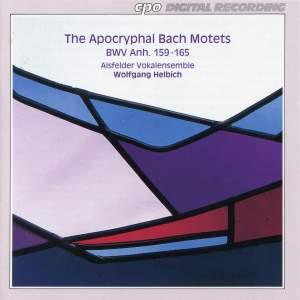 Bach, J S: The Apocryphal Bach Motets BWV Anh.159-165