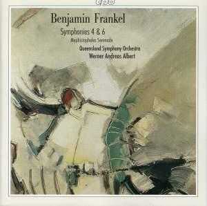 Benjamin Frankel: Symphonies Nos. 4 and 6