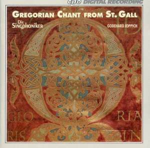 Gregorian Chant from St Gall - Volume I