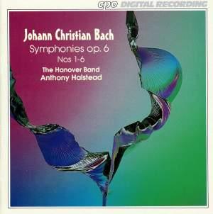 Bach, J C: Symphonies Op. 6
