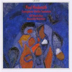 Hindemith: Complete Violin Sonatas
