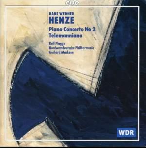 Henze: Piano Concerto No. 2 &Telemanniana