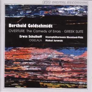Schulhoff & Goldschmidt: Orchestral Works