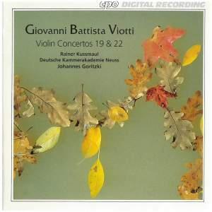 Viotti: Violin Concertos Nos. 19 and 22
