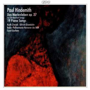 Hindemith: Orchestral Songs & Lieder