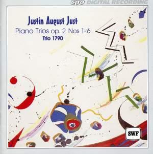 Just: Keyboard Trios, Op. 2 Nos. 1-6