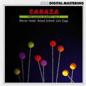 Cabaza Percussion Quartet, Vol. 2
