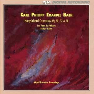 CPE Bach: Harpsichord Concertos Wq. 30, 37 & 38