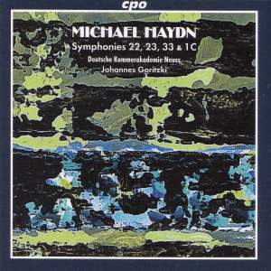 Michael Haydn: Symphonies Nos. 23, 23, 33 and 1c