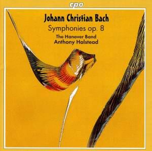 JC Bach: Symphonies, Vol. 3