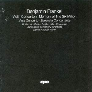 Frankel: Violin and Viola Concertos