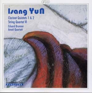 Yun: Quintet for Clarinet Nos. 1 & 2, etc.