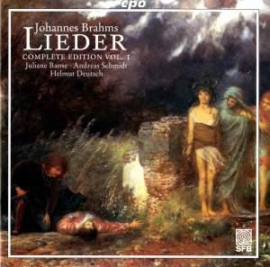 Brahms - Complete Lieder Edition Volume 1