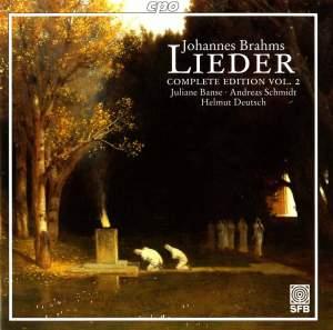 Brahms - Complete Lieder Edition Volume 2
