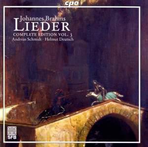 Brahms - Complete Lieder Edition Volume 3