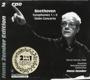 Beethoven: Symphonies 1 & 6 and Violin Concerto