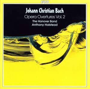 J C Bach - Opera Overtures Volume 2
