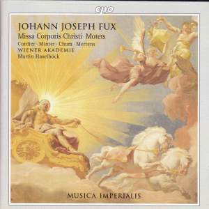 Fux: Missa Corpus & Motets