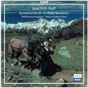 Joachim Raff: Symphonies Nos. 8-11 'Four Seasons'