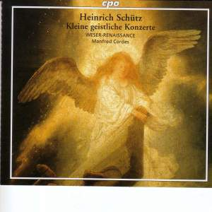 Schütz: Kleine Geistliche Konzerte SWV282-337