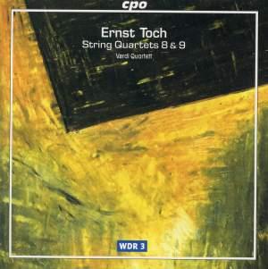 Toch - String Quartets Volume 2