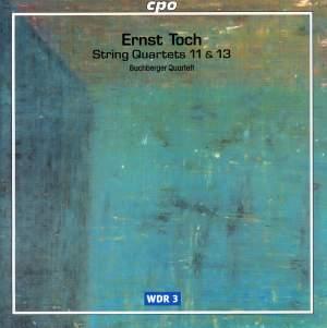 Toch - String Quartets Volume 1