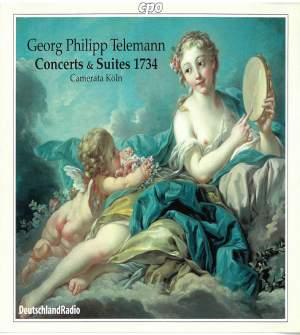 Telemann: Six Concerts et Six Suites, 1734