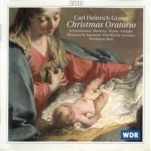Graun, C H: Christmas Oratorio Product Image