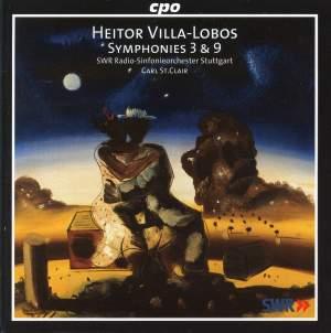 Villa-Lobos: Symphony No. 3 'A Guerra', etc.