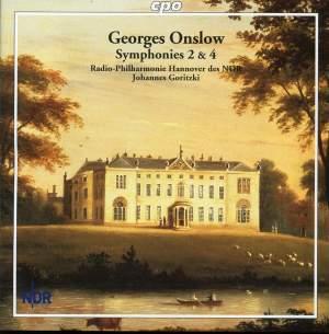 Georges Onslow: Symphonies Nos. 2 & 4
